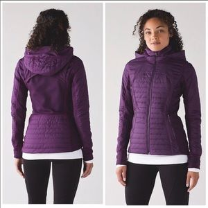 LULULEMON First Mile Jacket Darkest Magenta / 6